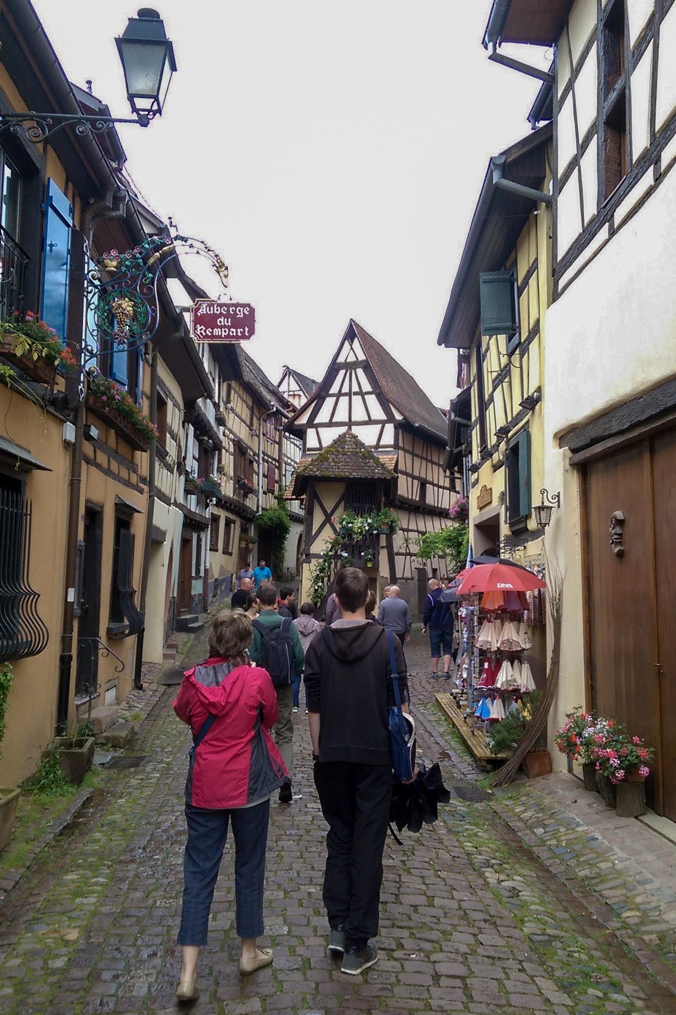 Ulice Eguisheim-a