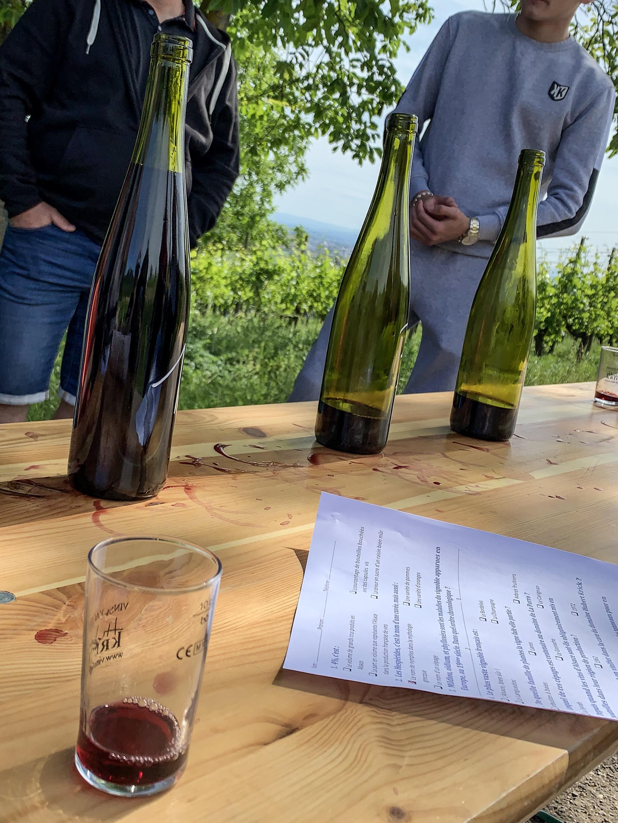 Crvena vina Alzasa