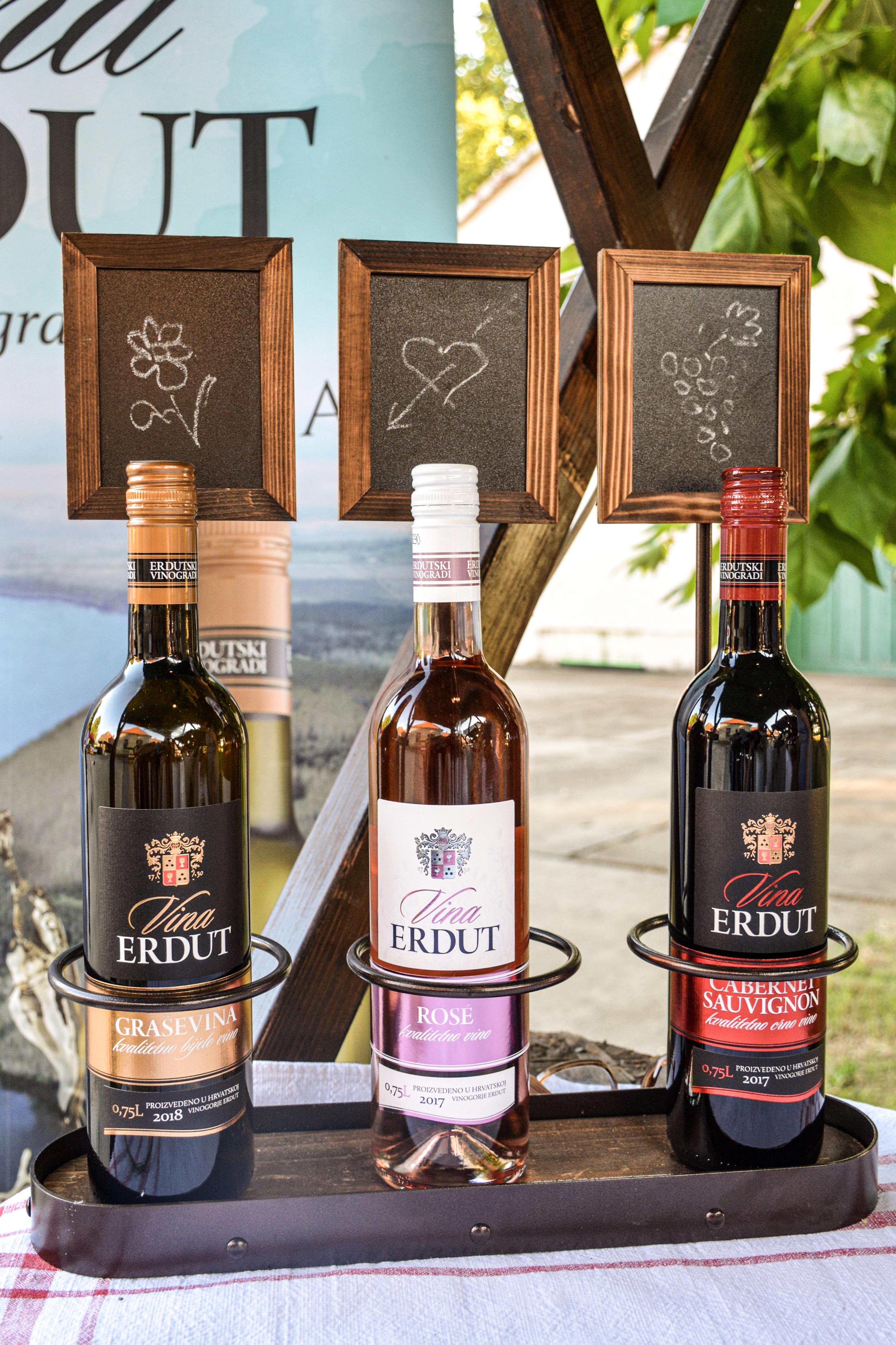 Etikete vinarije Erdut