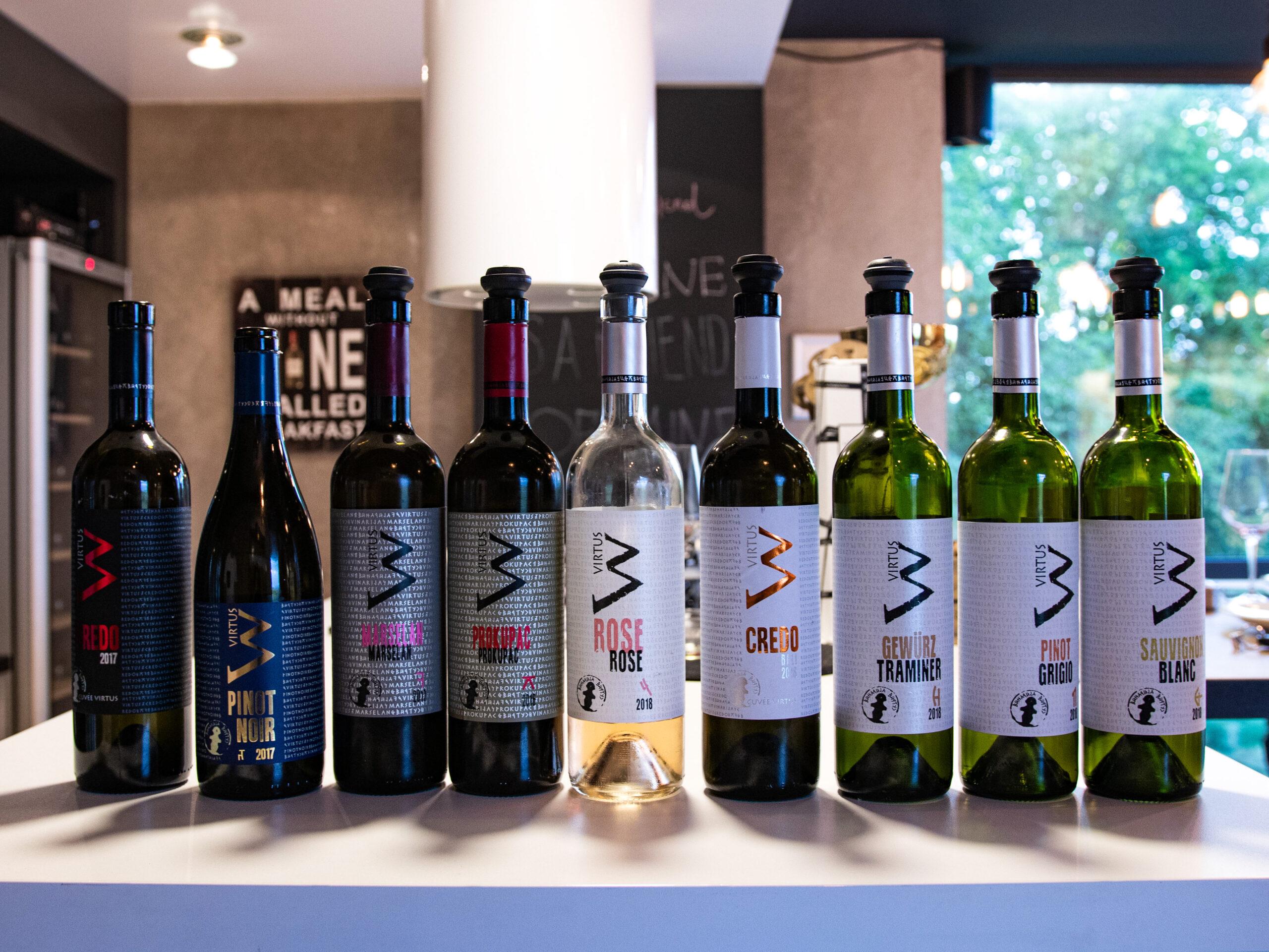 Etikete vinarije Virtus